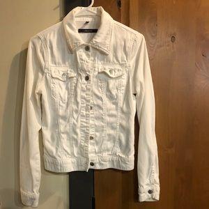 J. Brand white denim jacket